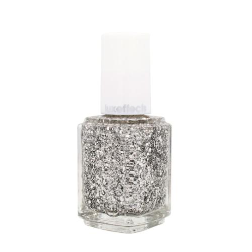 Essie Professional 0.46oz Nail Polish Lacquer Luxe Effects Metal Chrome Sparkle, SET IN STONE, 8304