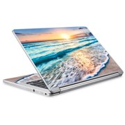 Skins Decals For Acer Chromebook R13 Laptop Vinyl Wrap / Sunset On Beach