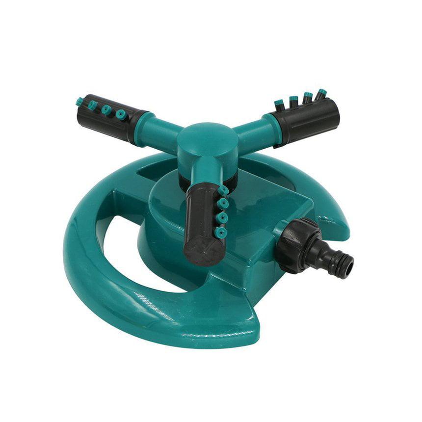 Garden Lawn Irrigation System Rotating 360 Degree Adjustable Spray Direction Nozzle Base Sprinkler Covering Large Area