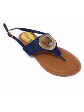 fc93550fb Product Image Victoria K Women s Gold Ring Sandals