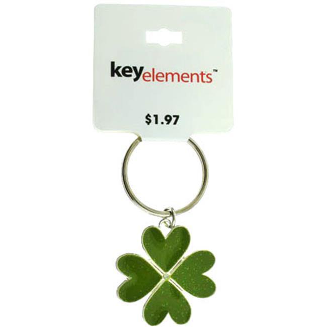 Bulk Buys Four leaf Clover Key Chain - Case of 60