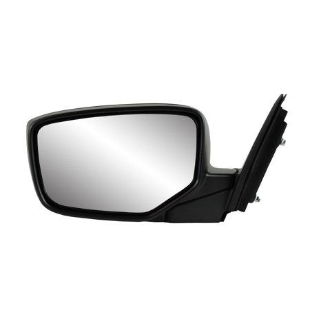 63612H - Fit System Driver Side Mirror for 08-12 Honda Accord LX Sport Model, 2dr, textured black w/ PTM cover, foldaway w/o Aspherical Lens, Power
