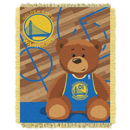 Golden State Warriors Jacquard BABY Throw Blanket