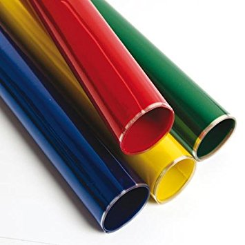 Temkin 40100R, 40-Inchx100-Feet Roll Assorted Colours Cellophane Film,  Catering Take Out Food Safe Packaging Film