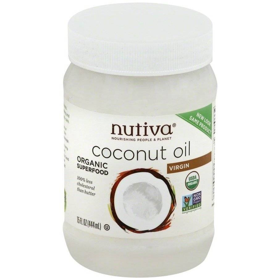 Nutiva Organic Extra Virgin Coconut Oil, 15 fl oz