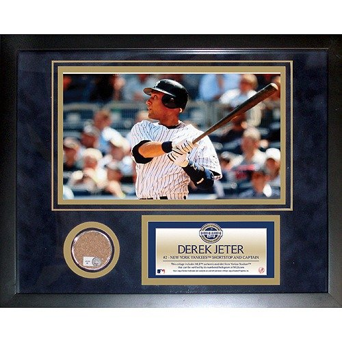 Steiner Sports Derek Jeter 2009 Yankees Mini Dirt Collage