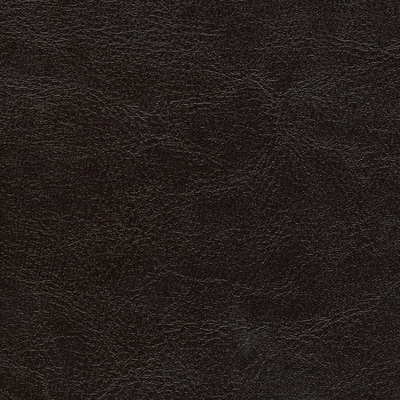 SHASON TEXTILE FAUX LEATHER UPHOLSTERY-HOME DECOR SOLID FABRIC, BROWN, Available In Multiple (Black Texas Fabric)