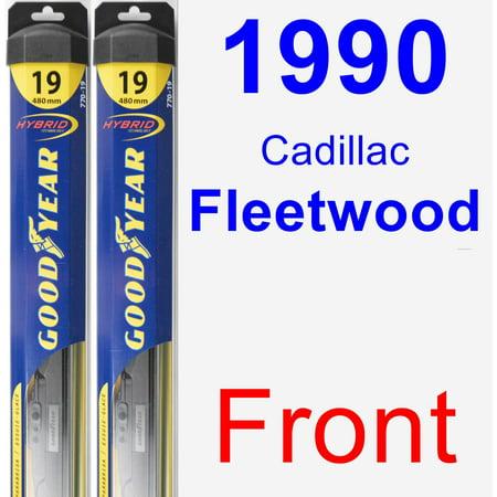 1990 Cadillac Fleetwood Wiper Blade Set/Kit (Front) (2 Blades) - Hybrid 1990 Cadillac Fleetwood Window