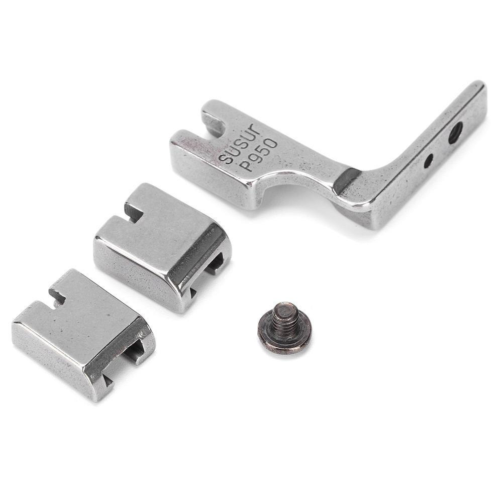 Set of Foot 2 Set Gathering Foot P950 Industrial Sewing Machine All Metal Presser Foot Accessory