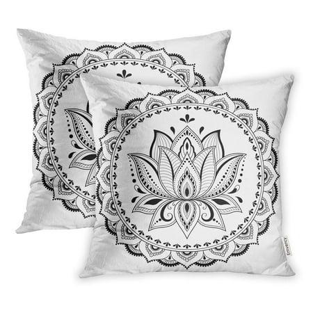 Arhome Circular Pattern In Form Of Mandala Lotus For Henna