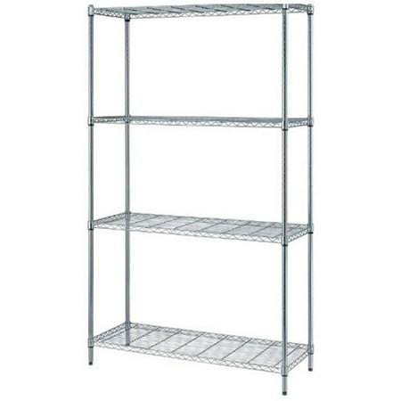 1 Box Wire Shelving Unit, 30 x 24 x 72 in. (Shelving Bin Unit)