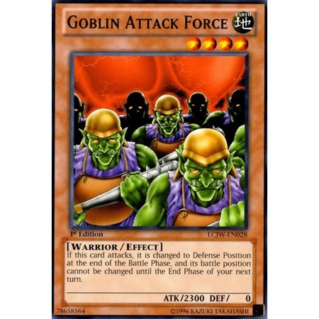 Goblin Attack Force - LCJW-EN028 - Common - 1st - Halloween Fart Attack Goblin Tooters