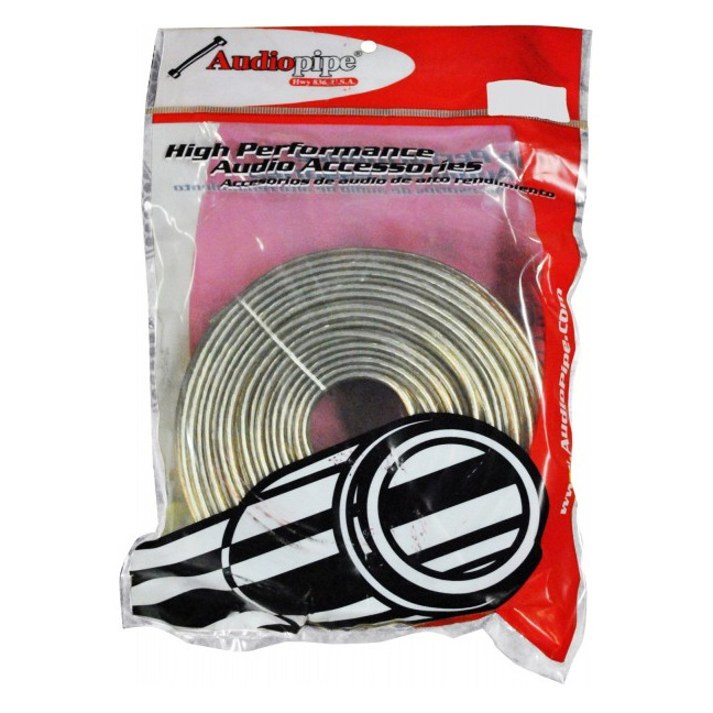 SPEAKER WIRE AUDIOPIPE 14GA 25' CLEAR