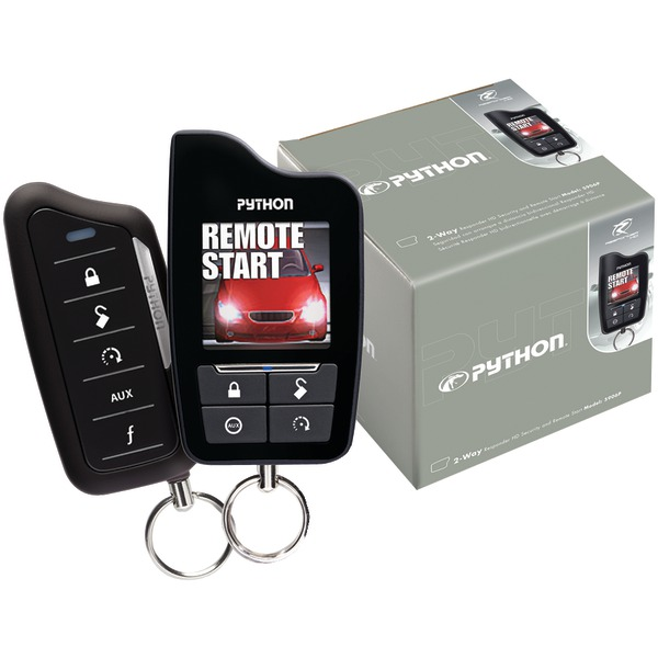 Python 5906P Responder SST 2-Way Security System with Remote Start