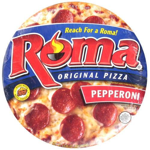 Roma Pepperoni Pizza, 13 oz