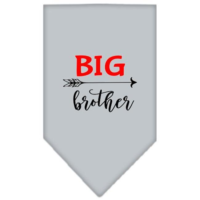 Big Brother Screen Print Bandana Grey Large - image 1 de 1