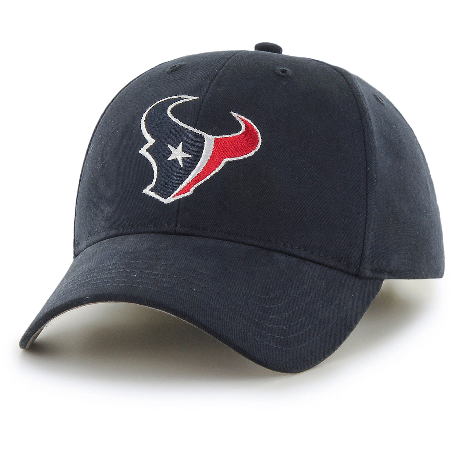Men's Fan Favorite Navy Houston Texans Mass Basic Adjustable Hat - OSFA