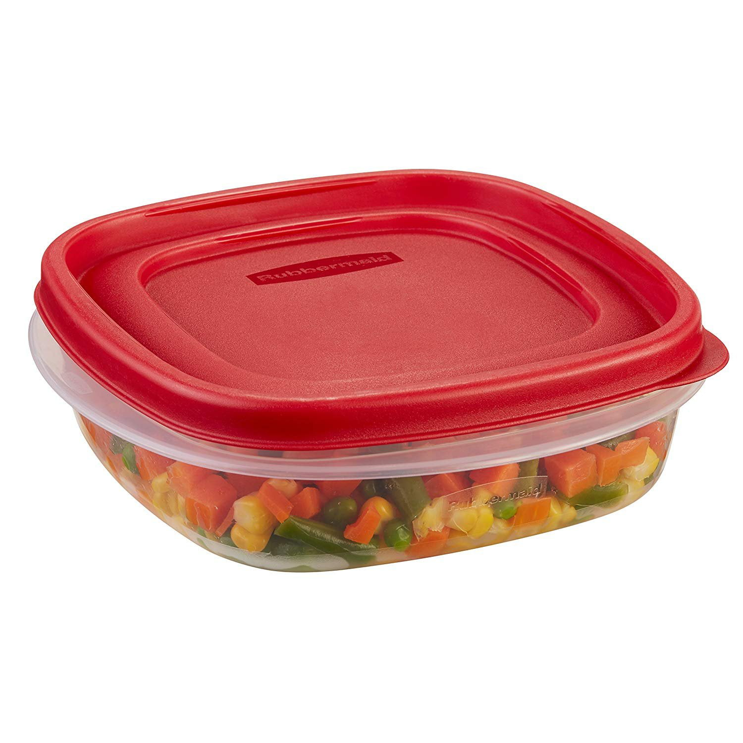 Rubbermaid Easy Find Lids Food Storage Container, 3 Cup
