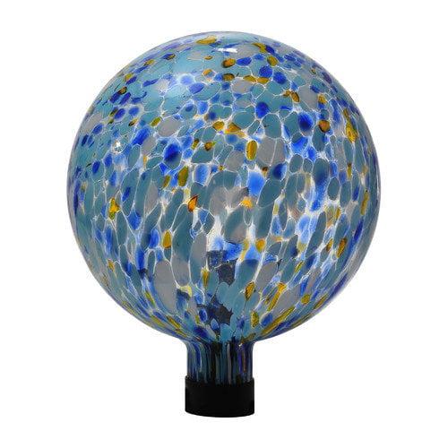 Russco III 10 in. Glass Gazing Ball by Russco III Inc