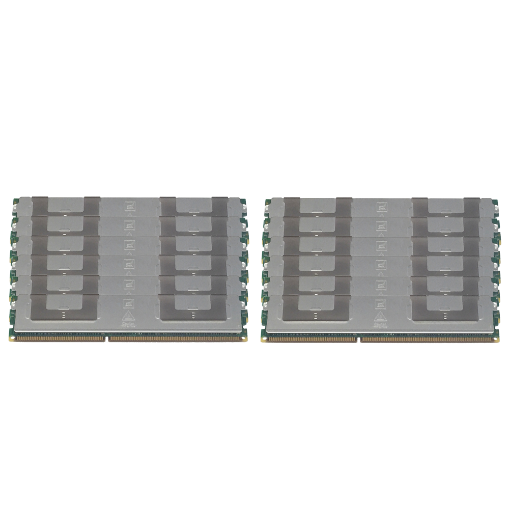 24GB (12x2GB) For Dell PowerEdge 2900 2900III Memory DDR2 667MHz FB DIMM Refurbished