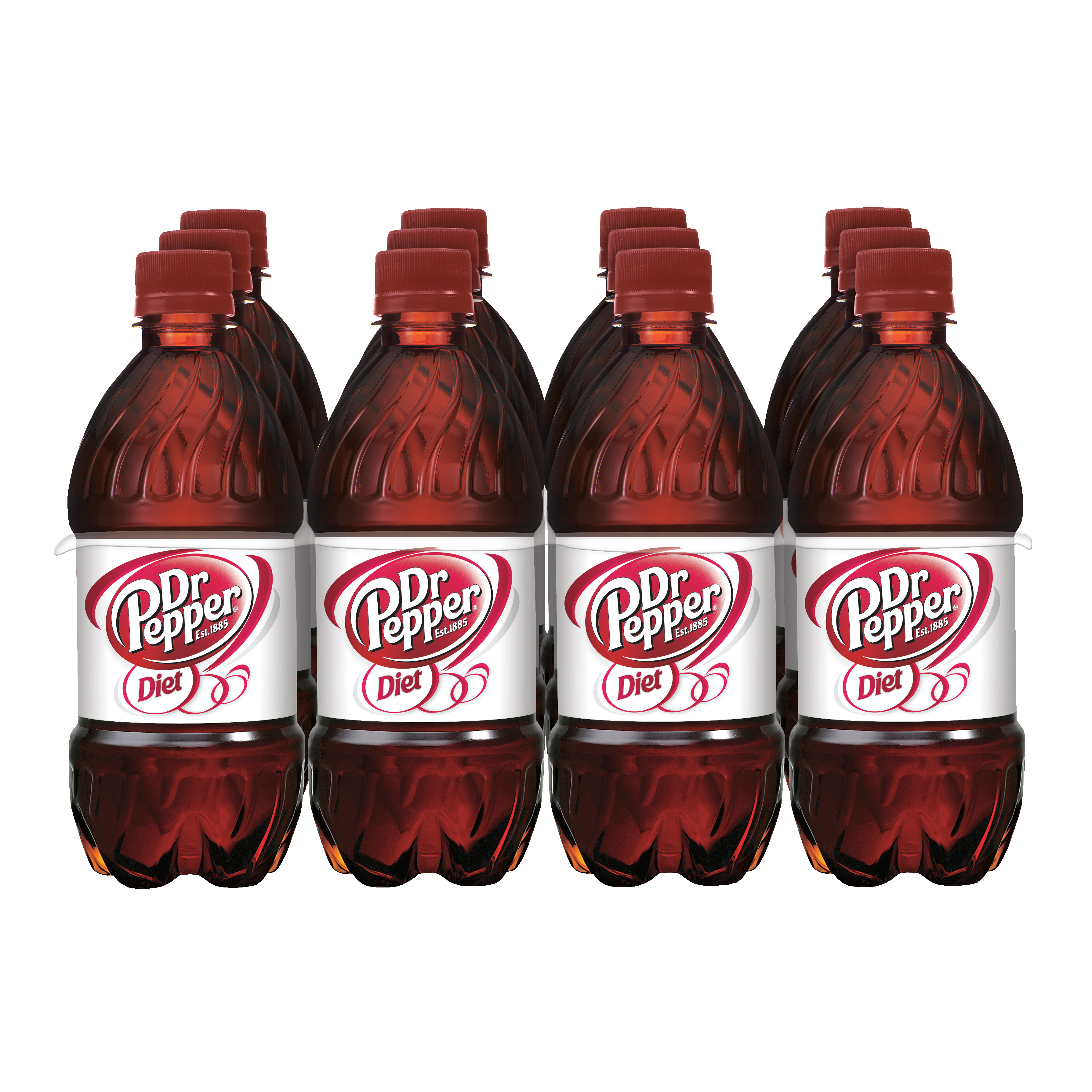 Diet Dr Pepper, 12 fl oz, 12 pack