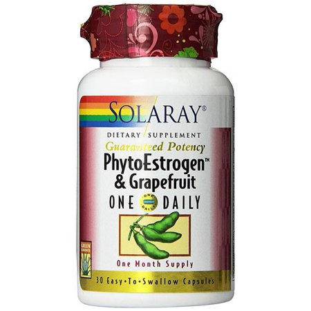 Solaray PhytoEstrogen with Grapefruit One Daily 30 Capsules