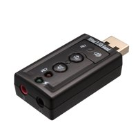 USB 2.0 External Stereo Sound Adapter with Optical SPDIF Output