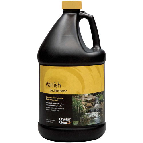 Winston Crystal Clear CC015-1G 1 Gallon Vanish Liquid Dechlorinator