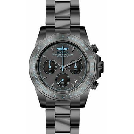 Invicta Men's Speedway Quartz Chrono 200m Gunmetal Stainless Steel Watch 27772
