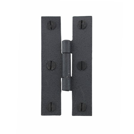 Cabinet Hinge Black Wrought Iron Hinge H Flush 3 H