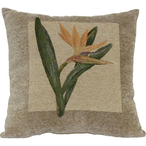 Bird of Paradise Decorative Pillow