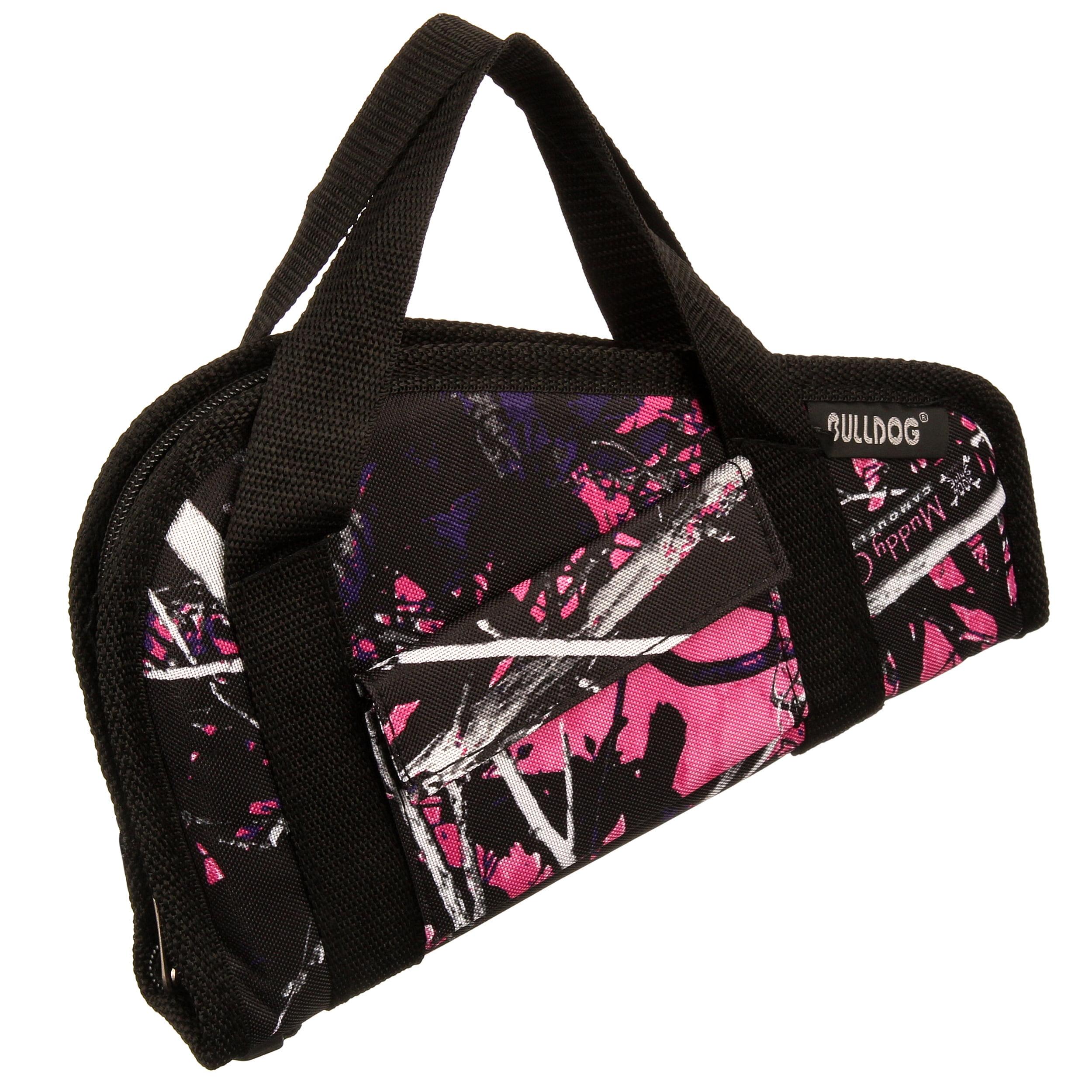 Camo//Black Bulldog Cases Deluxe Muddy Girl Range Bag with Strap