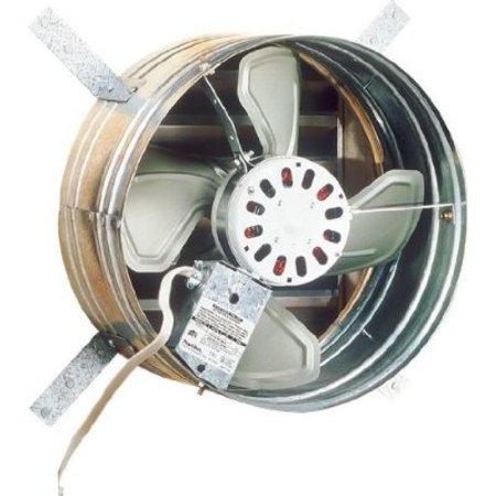 Broan 35316 Gable Mount 120-Volt Powered Attic Ventilator, 1600