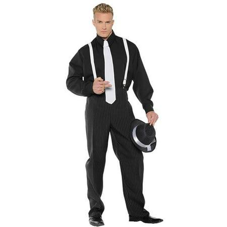 Morris Costume UR29750XXL Gangster Mens Costume, 2XL](1920 Fashion Men Gangster)