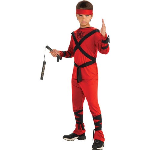 Red Ninja Child Halloween Costume