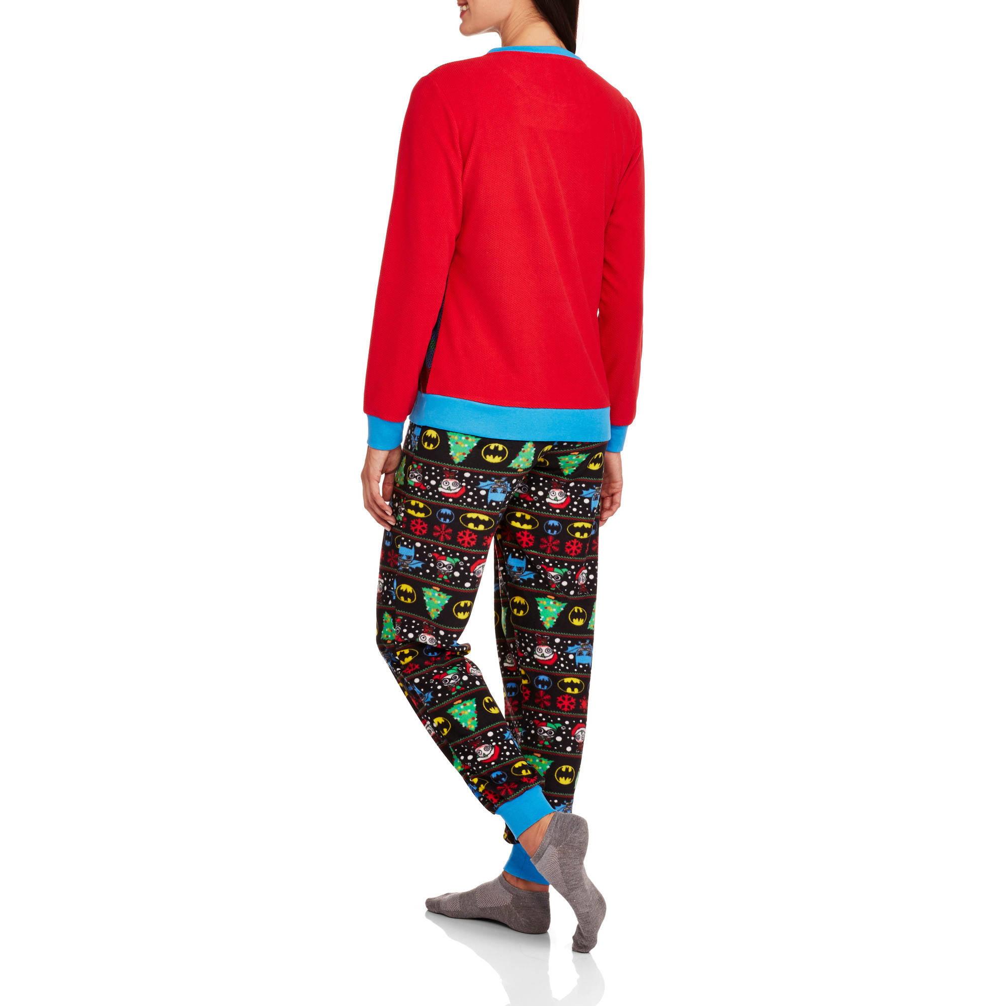 "OFFICIAL DC Harley Quinn Diamond Print Juniors Crew Socks /""Ugly Sweater/"""