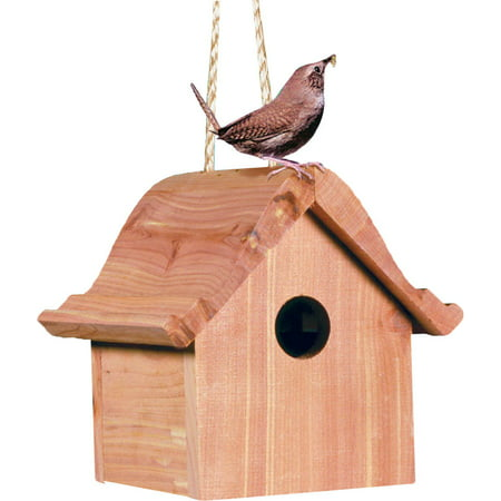- Perky-Pet 50301 Wren Home Cedar Birdhouse