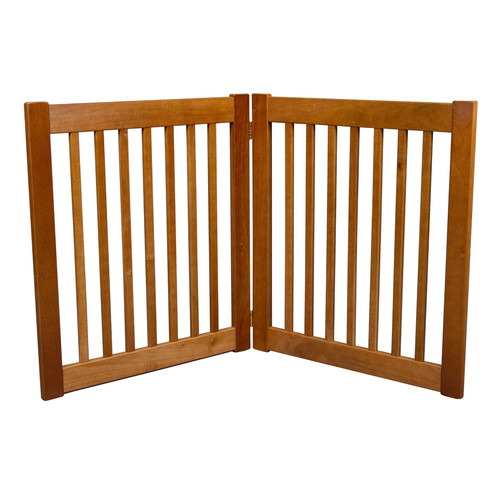 Dynamic Accents Amish Handcrafted 2 Panel Free Standing EZ Gate