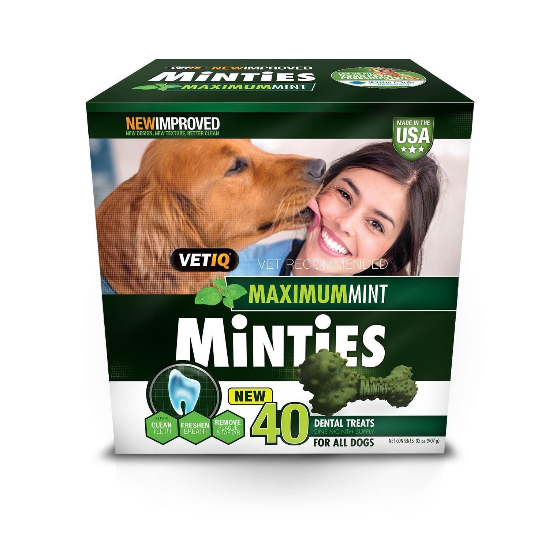Minties Dental Dog Treats (40 ct.) by
