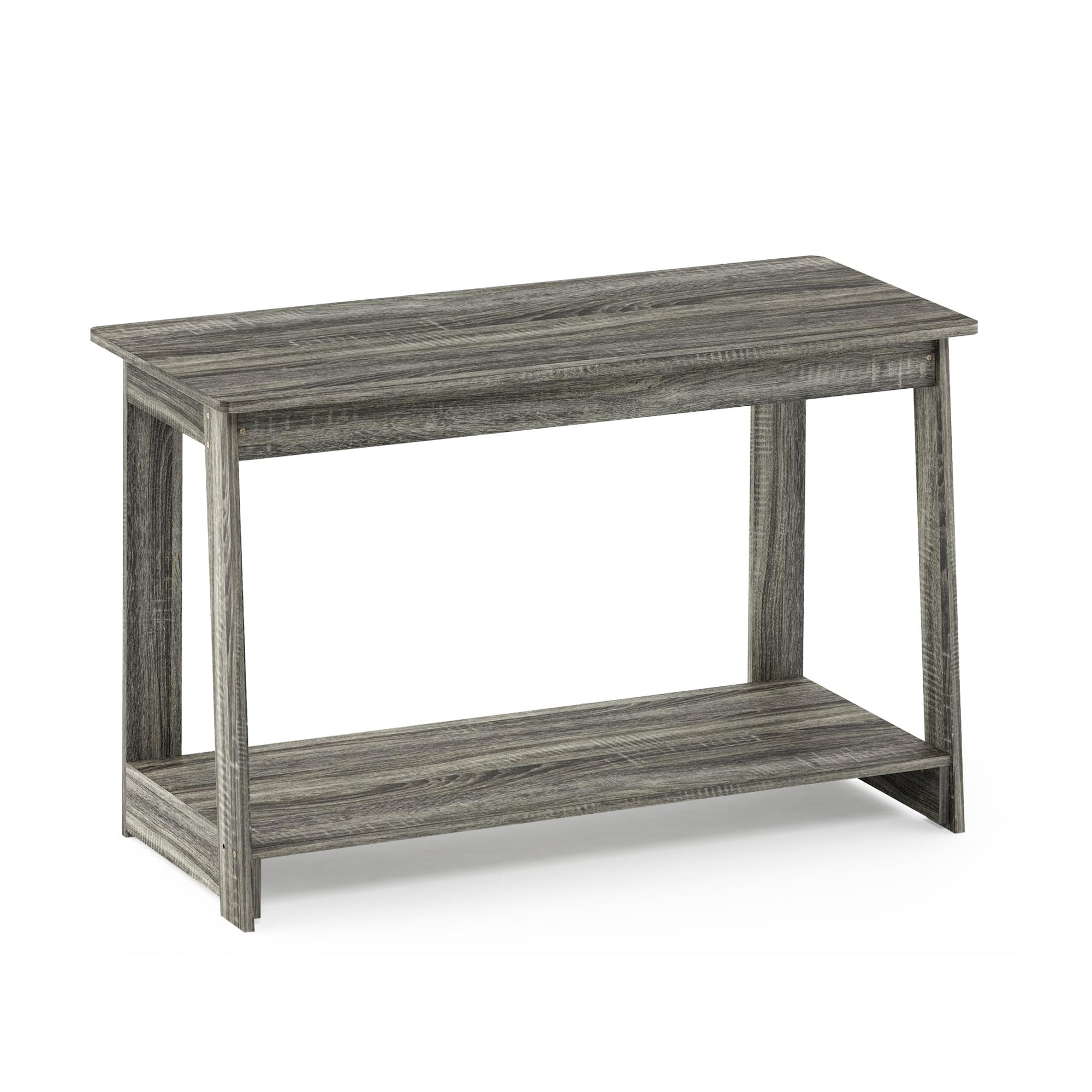 Furinno Beginning TV Stand, French Oak Grey 18041GYW