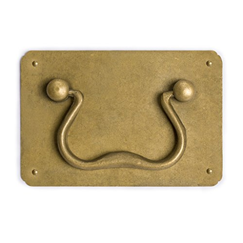 "CBH Chinese BRILLIANT SUN Brass Hardware Cabinet Pull 5/"""