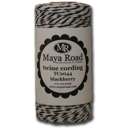 Maya Road Twine Cording 100yd-Blackberry - image 1 de 1