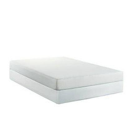 Bed Tech 7-Inch Chiro-Rest Memory Foam Mattress, Premium Twin (Discount Beads)