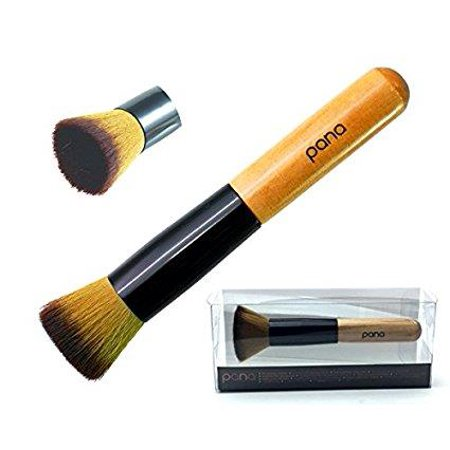 Pure Kabuki Brush - Pana Flat Top Kabuki Blending Makeup Brush