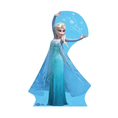 Disney Frozen Snow Queen Elsa Life Size Cutout Stand Large Cardboard Cutout Party Prop Decor Birthday party Supplies, Disney's The Princess and the Frog Birthday decoration Size: 70