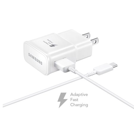 Zte Blade Spark Adaptive Fast Charger Type C Cable Kit 1 Wall 4 Ft Usb Charging Uses Dual Voltages For Up To 50