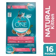 Purina ONE Natural Dry Kitten Food, Healthy Kitten, 3.5 lb. Bag