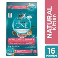 [Multiple Sizes] Purina ONE Natural Dry Kitten Food, Healthy Kitten