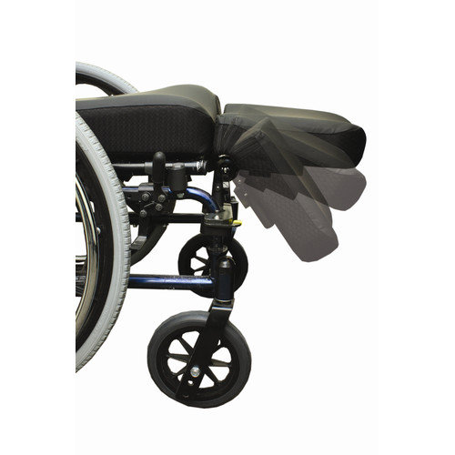 The Comfort Company Swing Away Amputee Support Wheelchair Footrest