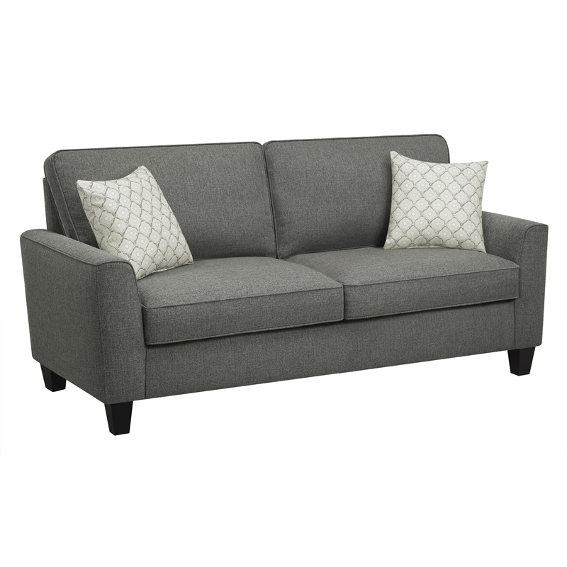 "Alan 73"" Sofa in Dark Gray"